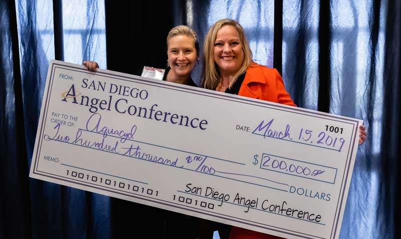 San Diego Angel conference winner